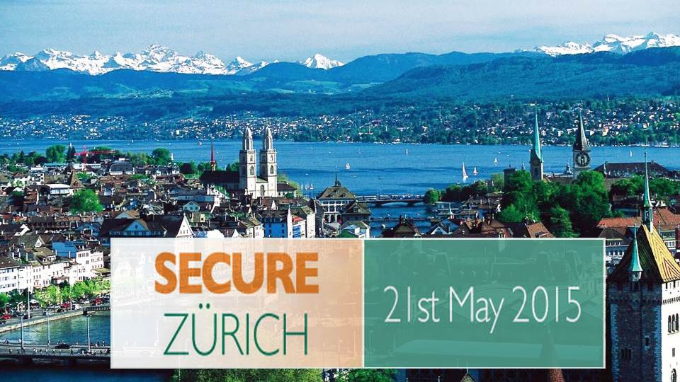 "(ISC)² SecureZurich Conference 2015 – from ""avoid"" to ""adopt""?"